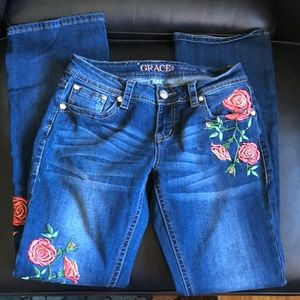 Grace rose jeans